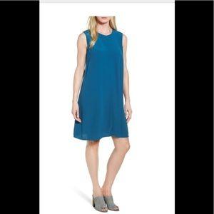 Eileen Fisher Tencel Viscose A Line Dress